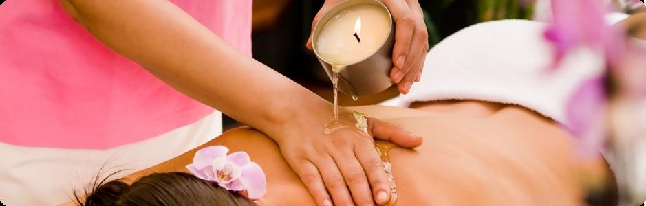 massage candle jak masować